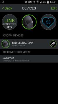The Mio Go App